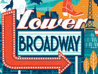 Lower Broadway Poster