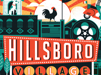 Hillsboro-village-poster-dribbble