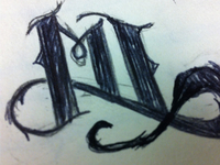 Early Logo Sketch