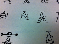 Unused Logo sketches