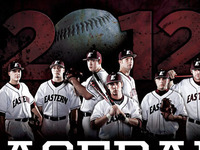 2012 Eastern Kentucky University Baseball Poster