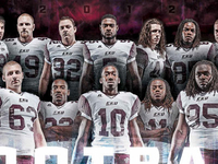 2012 Eastern Kentucky University Football Schedule Poster