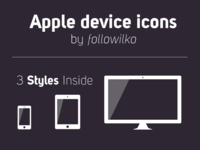 Apple Device Icons