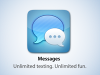 Replacement iMessage For iOS Icon