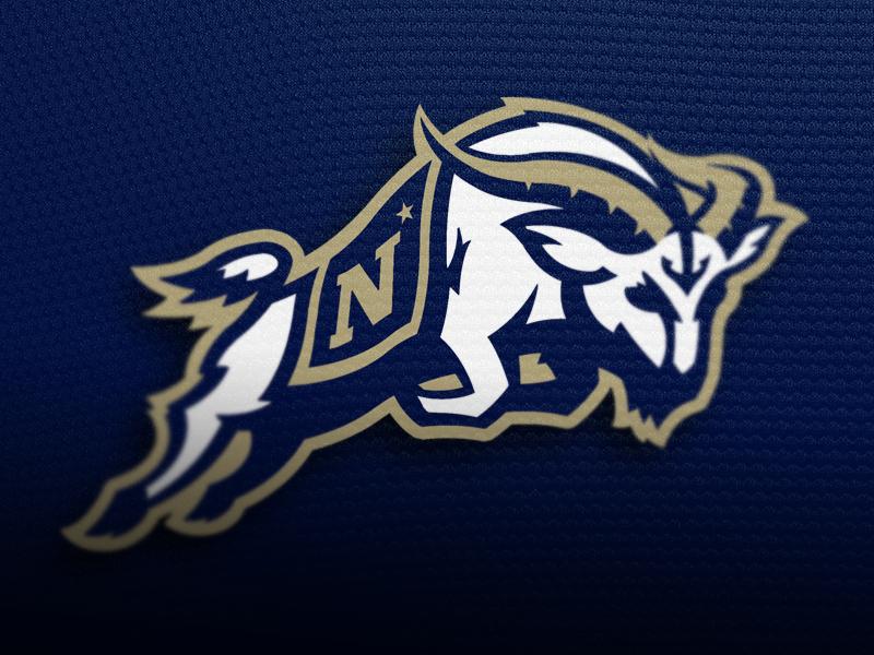 Navy Midshipmen Anchor Logo Navy png   quot Navy Anchor Logo