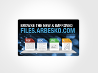 Arbesko File Browser Mini Ad