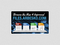 Arbesko File Browser Mini Ad, Round II