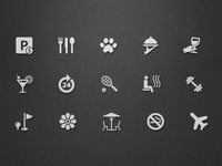 Hotel facilities icons (Vol.1)