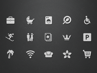 Hotel Facilities Icons (Vol.2)