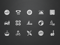 Hotel Facilities Icons (Vol.3)
