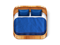 Bed-2 iOS Icon