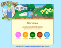 Landscape Services Page Overview