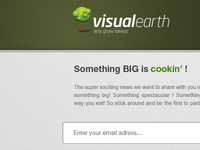 Landing Page Visualearth