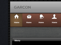 Garcon mobile interface