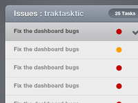 Tracktasktic Tasks