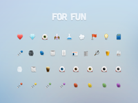 For Fun Icon Set