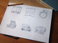 Icon Set Sketches