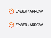 Updated: Ember & Arrow - logo option
