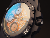 Modelling A Wrist Watch In C4d