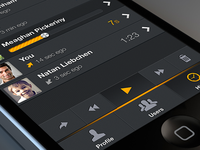 Zello App ⇔ list