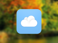 simple cloud icon