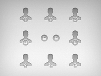User privilege icon ideas