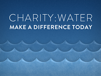 charity:water - make a difference