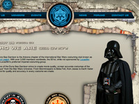 Dune Sea Garrison website design