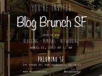 Blog Brunch SF Invite