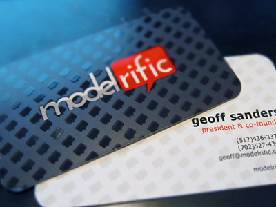 Modelrific-business-card-design