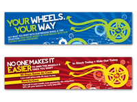 Rent-a-Wheel Web Banners