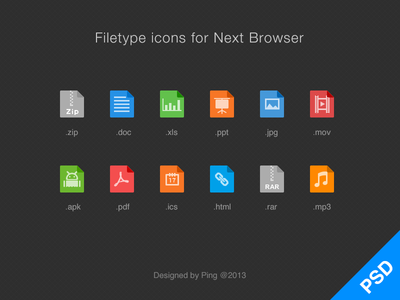 Download Filetype Icons