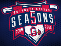 Gwinnett Braves 5th Season