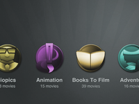 Movie Channel Icons
