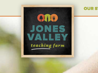 Jones Valley Teaching Farm Branding / Site