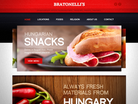 Sandwich Bar Website