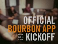 Official Bourbon Trail App Kickoff