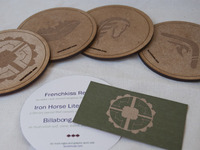 Coasters/ Business card