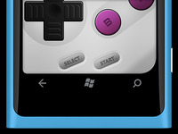 Purple Cherry Gamepad