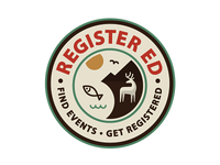 Register-ed logo / badge
