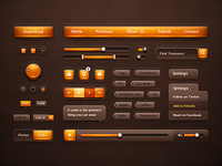 Orange Ui Pack