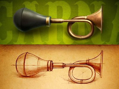 Antique_horn