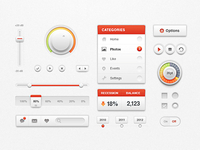 White Ui Kit