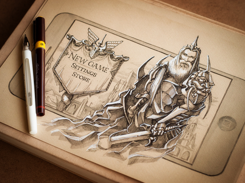 Knight by Mike | Creative Mints