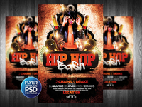 HipHop Flyer Template