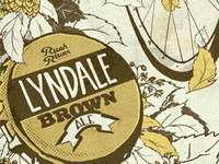 Lyndale Brown Poster