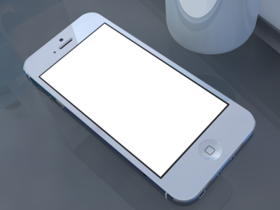 Download iPhone 5 Presentation Template with Mug