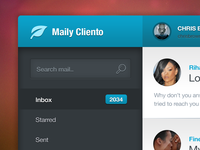Mail Client (non-flat version)