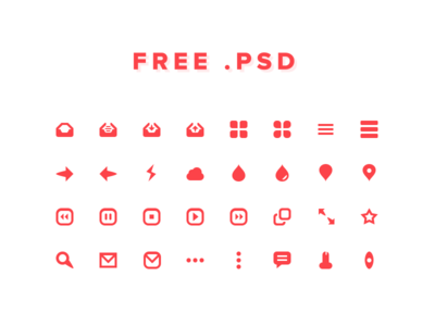 Download 32 Icons For Free