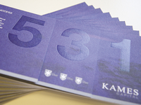 Kames Capital 5th Birthday Direct Mail